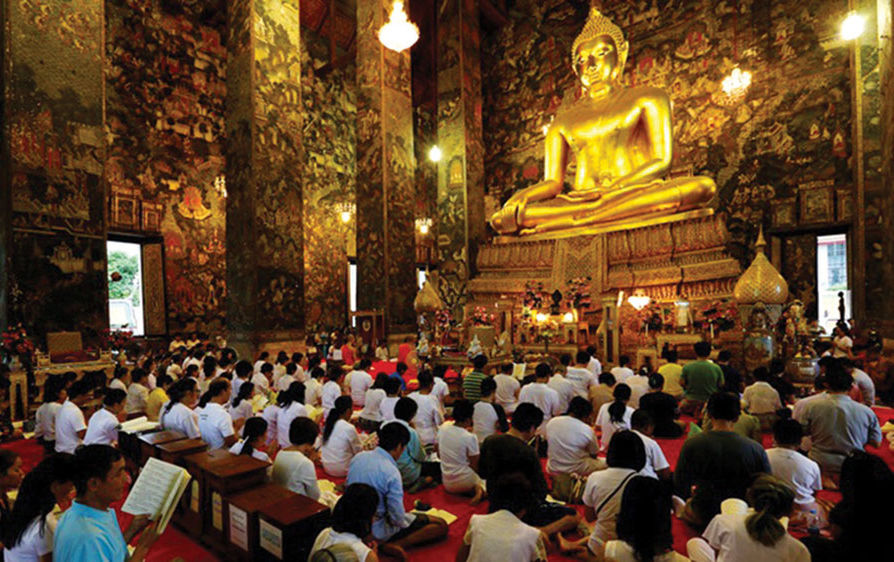 Buddhists commemorate Visakha Bucha Day – Monday will be a holiday | The Thaiger