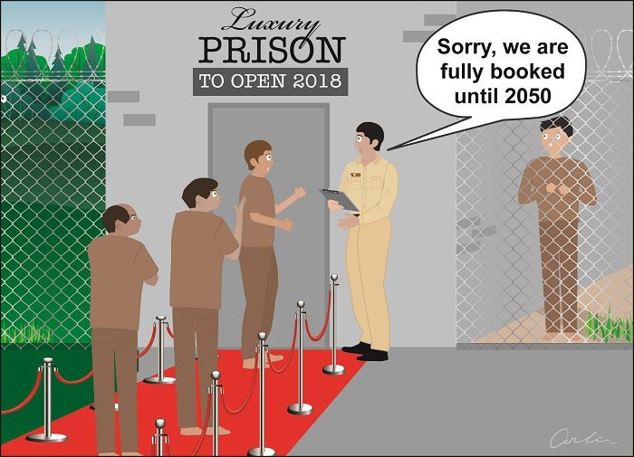Opinion: Packed prison | The Thaiger