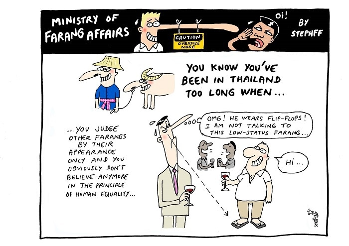 Ministry of Farang Affairs: Flip-flop expats | The Thaiger