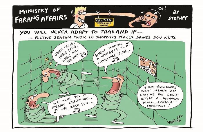 Ministry of Farang Affairs: Festive Season Jingles   The Thaiger