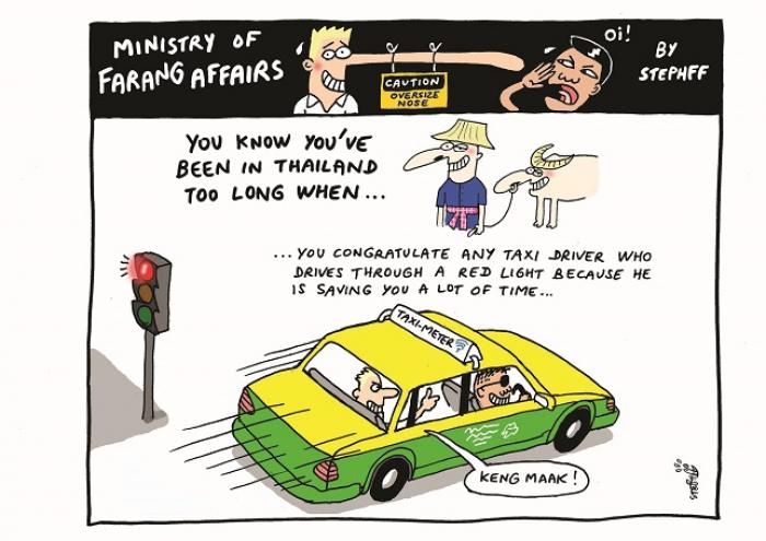 Ministry of Farang Affairs: Speeding Taxi Drivers   The Thaiger