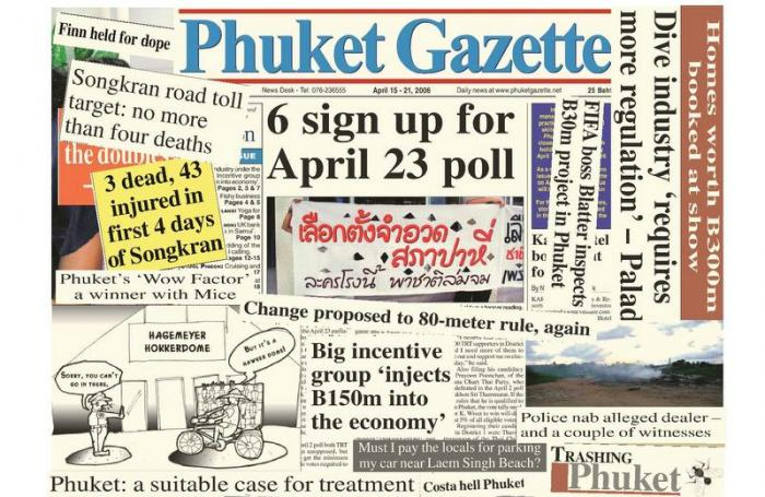 A Decade Ago: Songkran, road-safety and dive regulations | The Thaiger