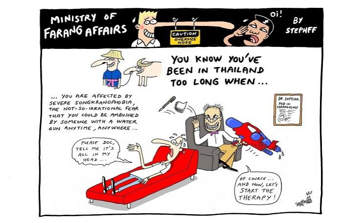 Ministry of Farang Affairs: Songkranophobia | The Thaiger