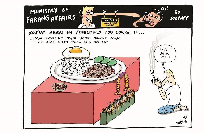 Ministry of Farang Affairs: Worship Thai basil pork | The Thaiger