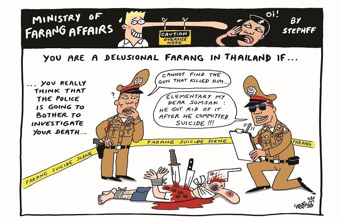 Ministry of Farang Affairs: Investigating death | The Thaiger