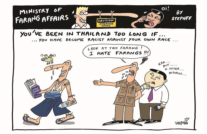 Ministry of Farang Affairs: Needlessly hating all farangs | The Thaiger