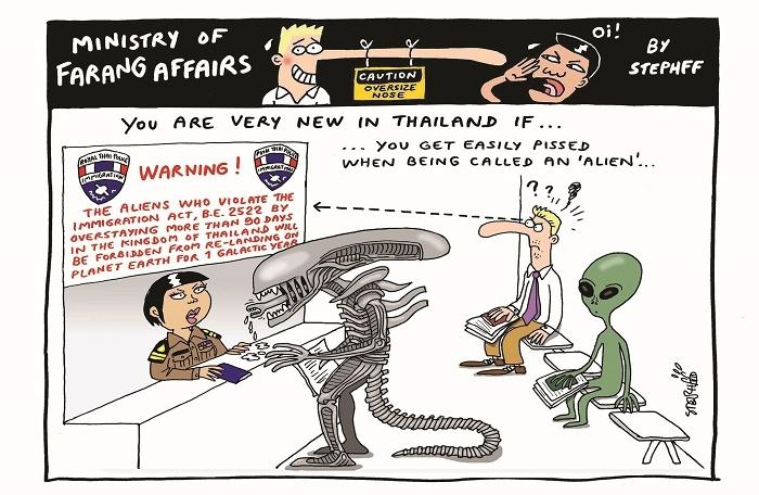 Ministry of Farang Affairs: Being an alien in Thailand | The Thaiger