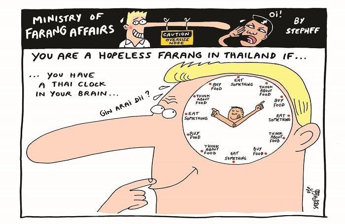 Ministry of Farang Affairs: Internal Thai clock | The Thaiger