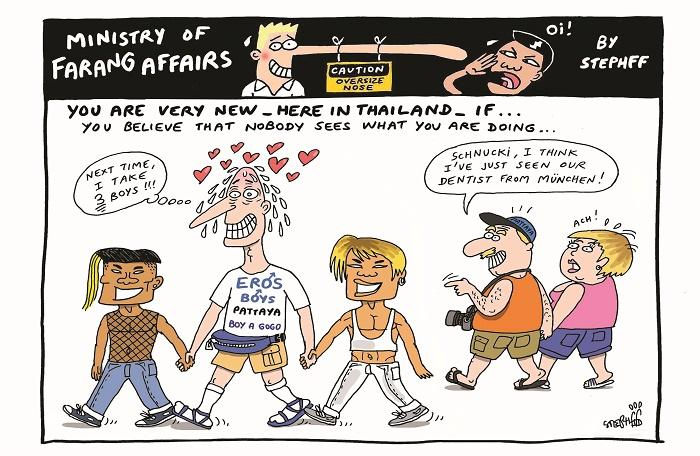 Ministry of Farang Affairs: Nobody sees your actions | The Thaiger