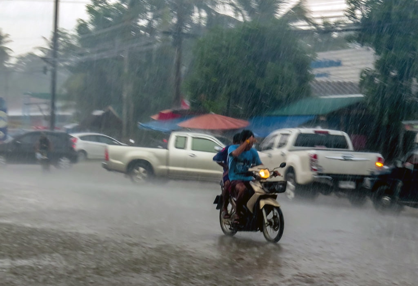 Sunday drenching for Phuket | The Thaiger