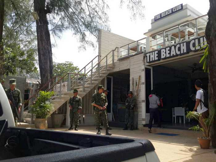Phuket Beach Club To Be Demolished
