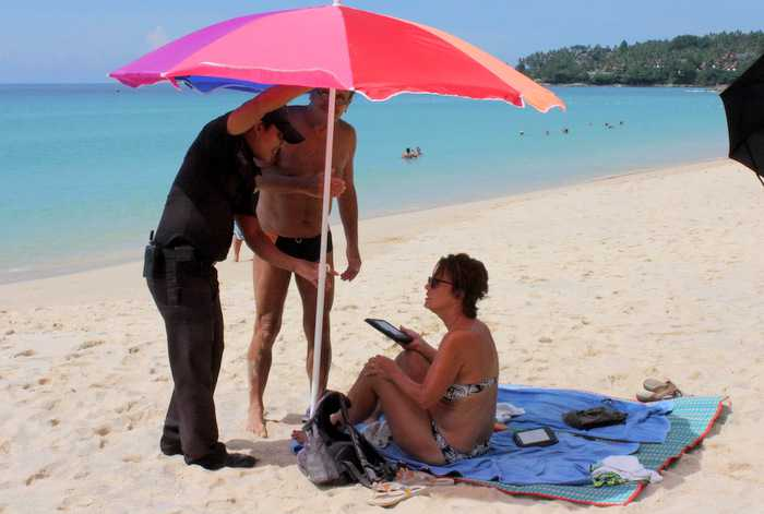 """Tourists, bring your own umbrellas,' says Phuket beach town president 