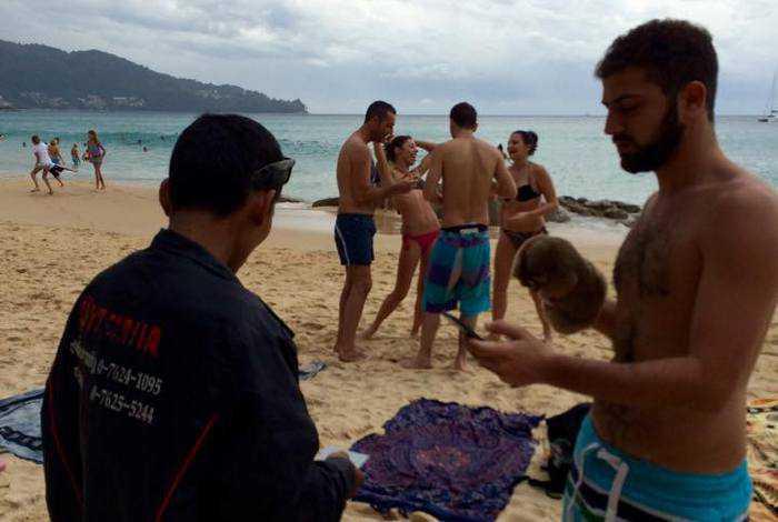 Slow lorises touted on Phuket beach   The Thaiger