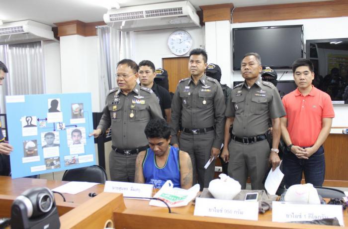 Phuket Police arrest drug mule with crystal meth, dealer escapes | Thaiger
