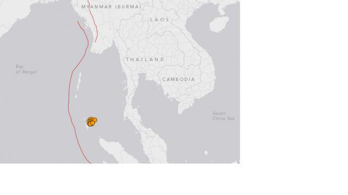 No tsunami alert issued in Phuket after 6.5 magnitude earthquake off Nicobar Islands | Thaiger