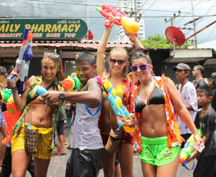 Phuket Gov warns against showing 'too much' skin during Songkran | The Thaiger