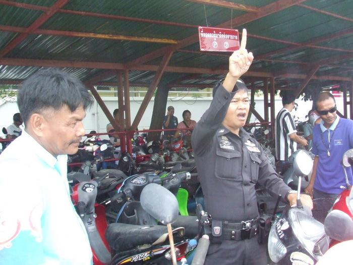 Brazen thief steals Phuket Police officer's motorbike | Thaiger