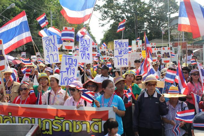 Phuket PDRC factions unite for mass protest | The Thaiger