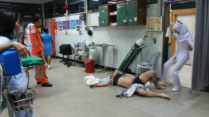 Drunk Aussie tourist marks rough landing in Phuket | The Thaiger
