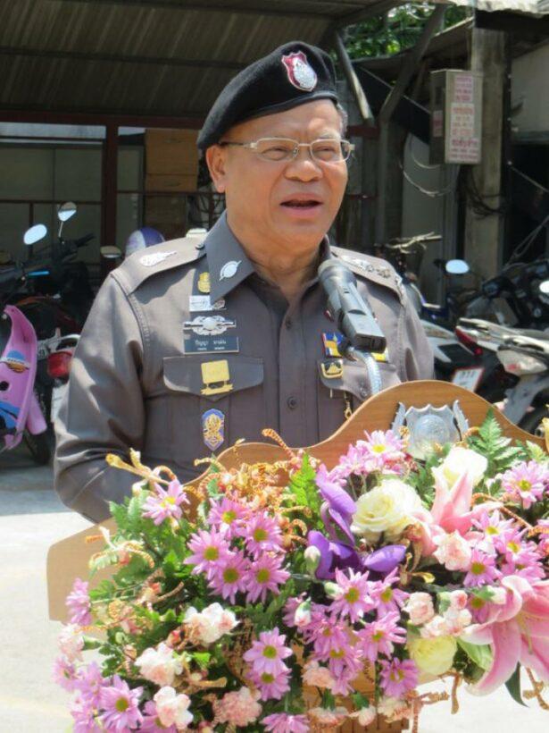 Region's top cop praises understaffed Chalong Police | Thaiger