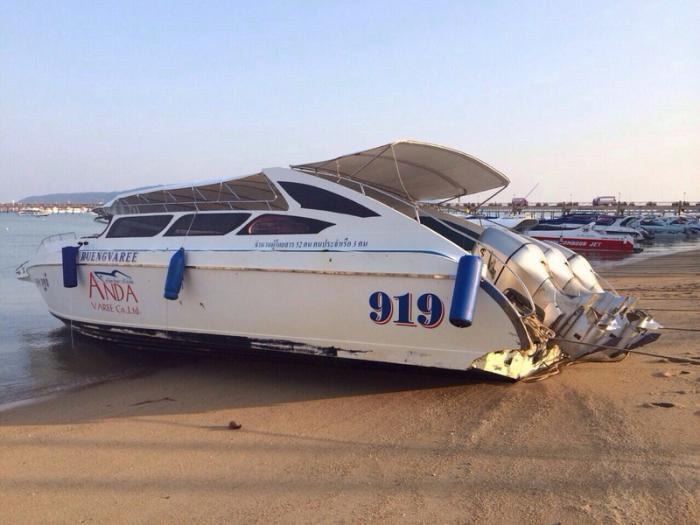 Log caused Phuket speedboat accident | Thaiger