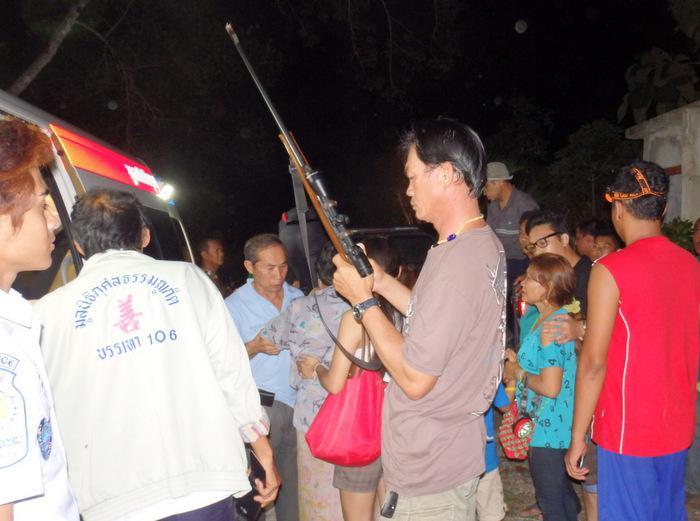 Phuket hunter shot dead, police probing gun misfire claims | Thaiger