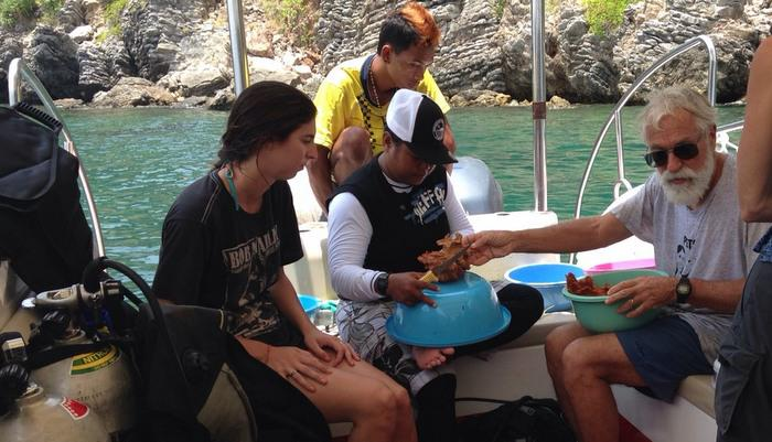 Research team collecting Phuket corals mistaken as poachers | The Thaiger