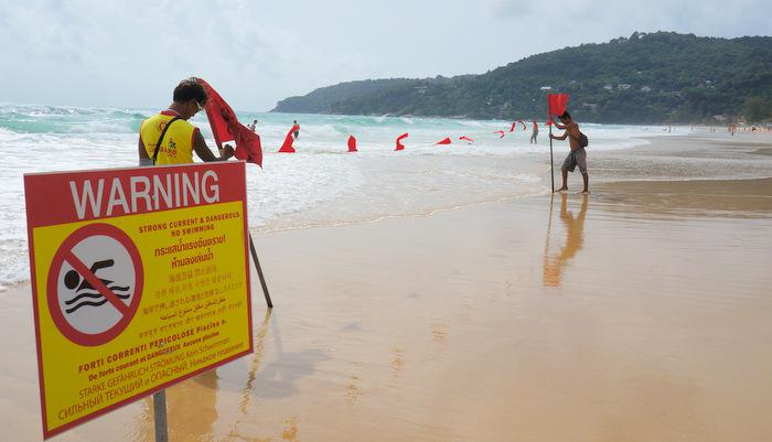 Phuket lifeguard president threatens to cut number of guards   Thaiger