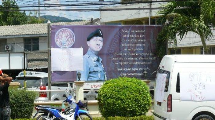 Road death inaction sparks blockade of Phuket police station | Thaiger