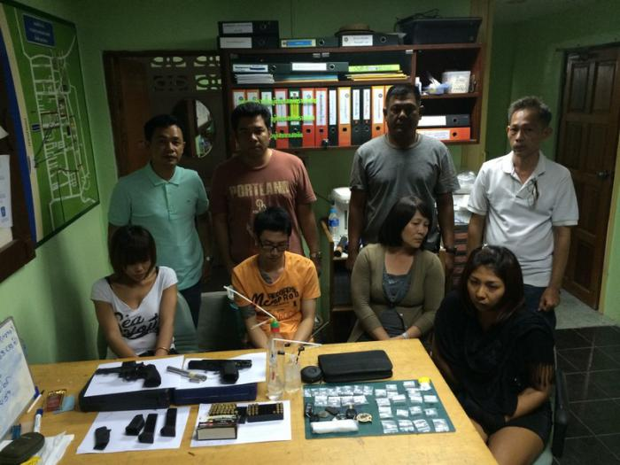 Phuket Police arrest four drug suspects after a snitch chain reaction | Thaiger