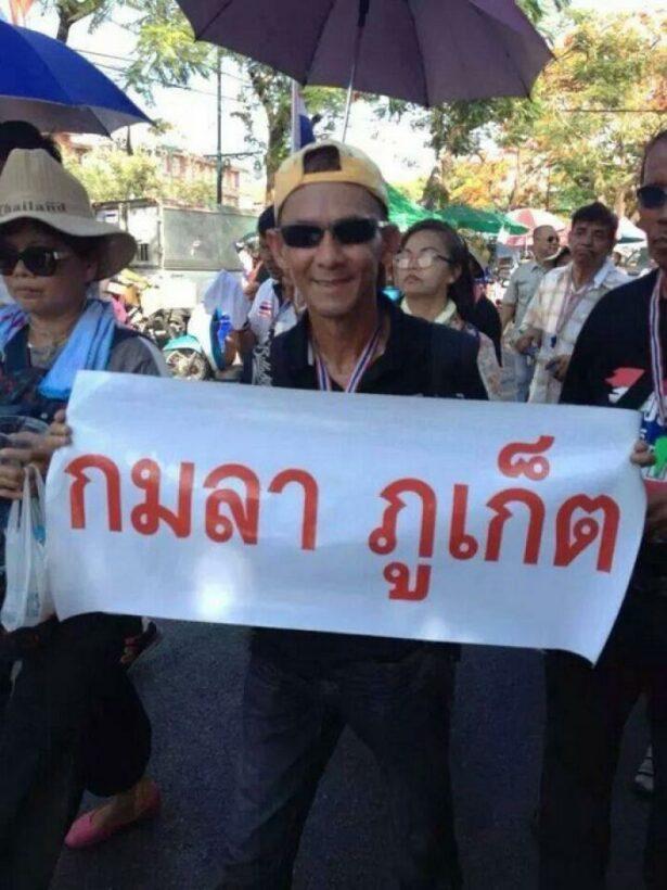 Phuket protesters safe after fatal attack in Bangkok   Thaiger