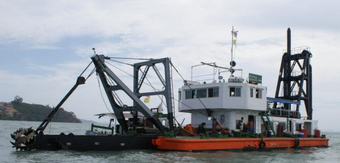 Phuket marina canal dredging stirs ire   Thaiger
