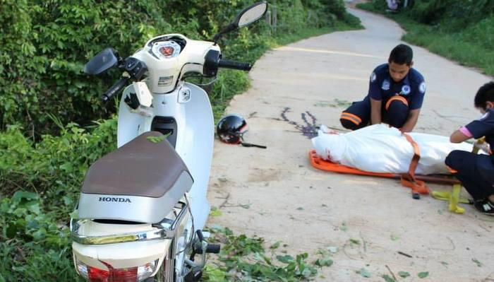 Tourist killed in motorbike accident on Big Buddha Hill | Thaiger