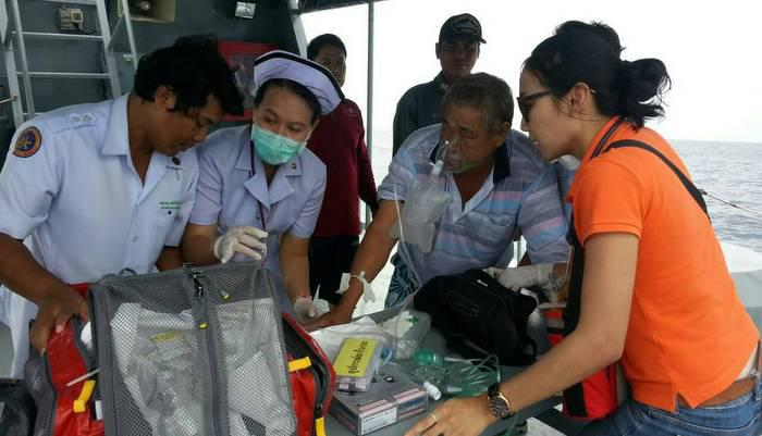 Taiwanese tuna boat captain breathes easy after Phuket rescue | Thaiger