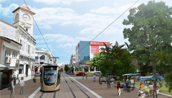 Light-rail proposed to trundle through Phuket Town | Thaiger