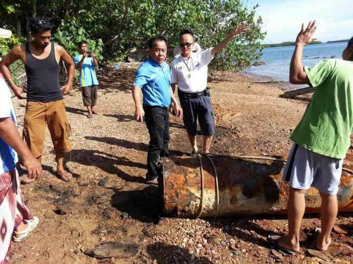 Navy experts disarm Japanese WWII torpedo in Krabi | The Thaiger