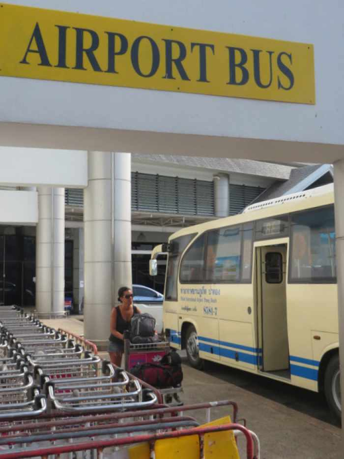 Airport Express Bus sets sights on Kata-Karon; seeks security from violent taxi attacks | Thaiger