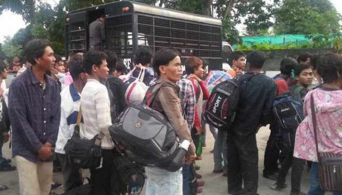 65 Cambodian laborers arrested on their way home – to be deported | Thaiger