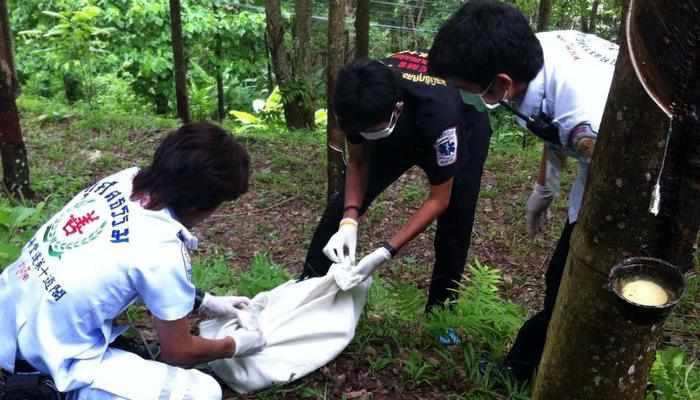 Body of newborn found in Phuket rubber plantation | Thaiger