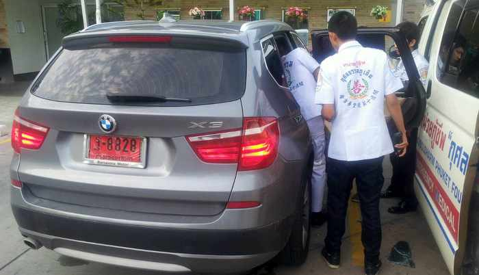 Disaster averted at Phuket gas station as toddler rescued from locked BMW | Thaiger