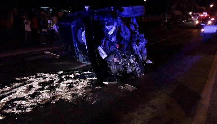 Russian tourist dies after overshooting curve on wet Rawai road   Thaiger