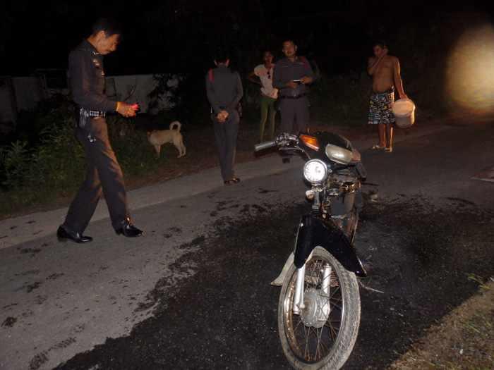 Phuket Police hunt suspected bike thief, arson | Thaiger