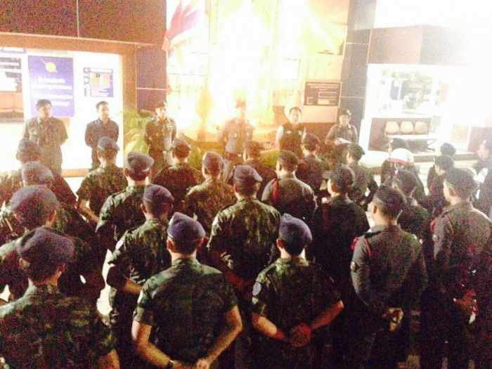 Patong Police sweep party town for illegal weapons   The Thaiger