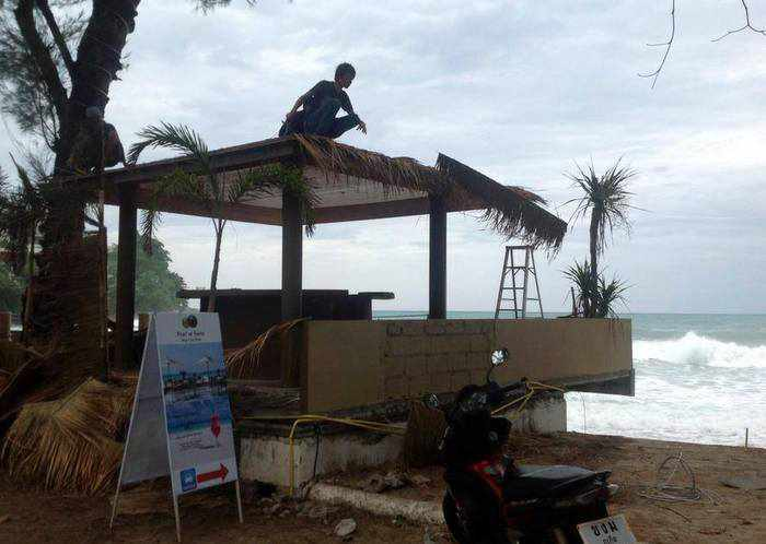 """Surin beach clearout """"70 per cent complete' as deadline looms 