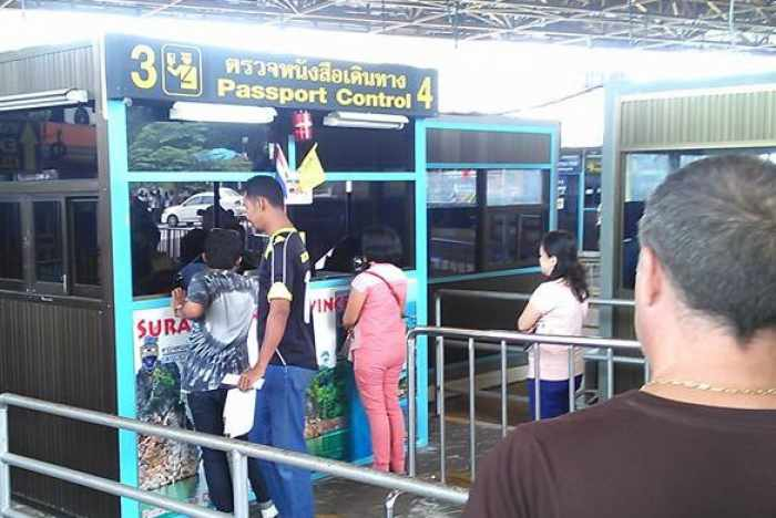 """Phuket visa runners caught in """"cash only' immigration scare 