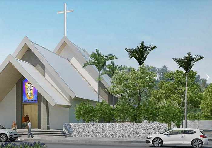 New Catholic church soon to be consecrated in Cherng Talay | The Thaiger