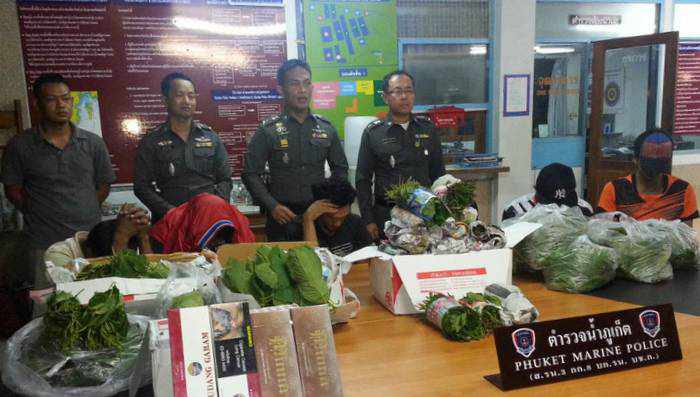 One Phuket post office, seven boxes, two days, eight drug arrests | The Thaiger