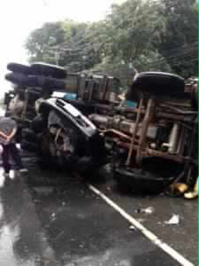 Breaking News: At least one dead in Phuket cement truck smash | Thaiger