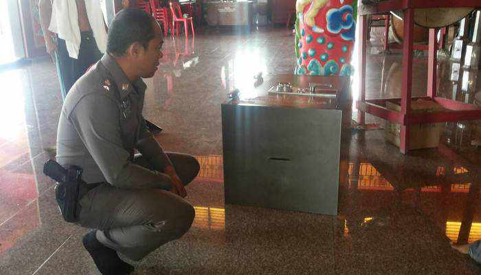 Phuket shrine broken into; possibly robbed | Thaiger