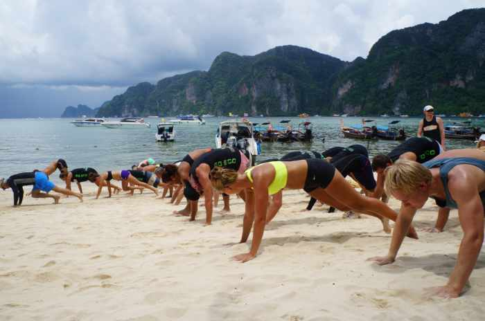 Video Report: Get sweaty with a clean conscience: Phuket's Clean the Beach Boot Camp tomorrow | The Thaiger